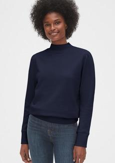 Gap Mockneck Puff-Sleeve Sweatshirt