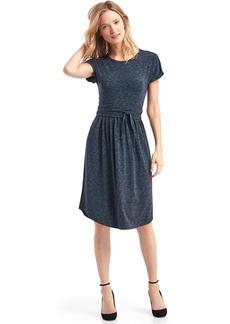 Modal spacedye tie dress
