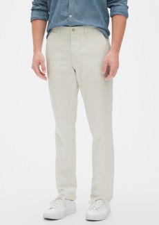 Modern Khakis in Straight Fit with GapFlex