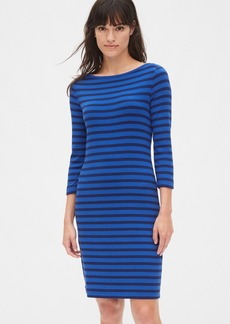 Gap Modern Stripe Boatneck Dress
