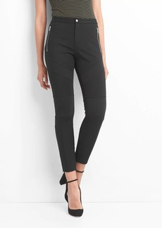 Moto zip leggings