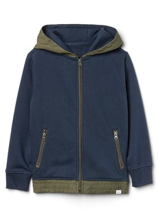 Gap Nylon-Hood Sweatshirt