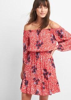 Gap Off-Shoulder Ruffle Dress