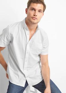 Gap Oxford short sleeve standard fit shirt