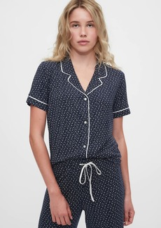 Gap Pajama Shirt in Modal