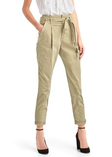Gap Paper bag high rise chinos