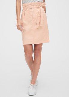 Gap Paperbag Mini Skirt in TENCEL&#153