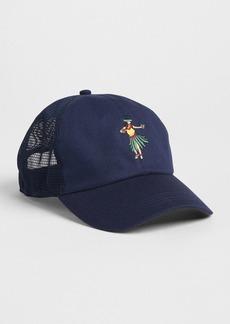 Gap Patch Mesh Baseball Hat