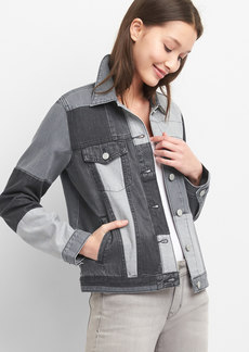 Patchwork Icon jacket