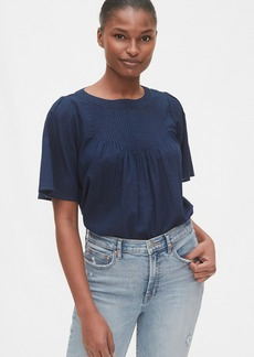 Gap Pintuck Shirt