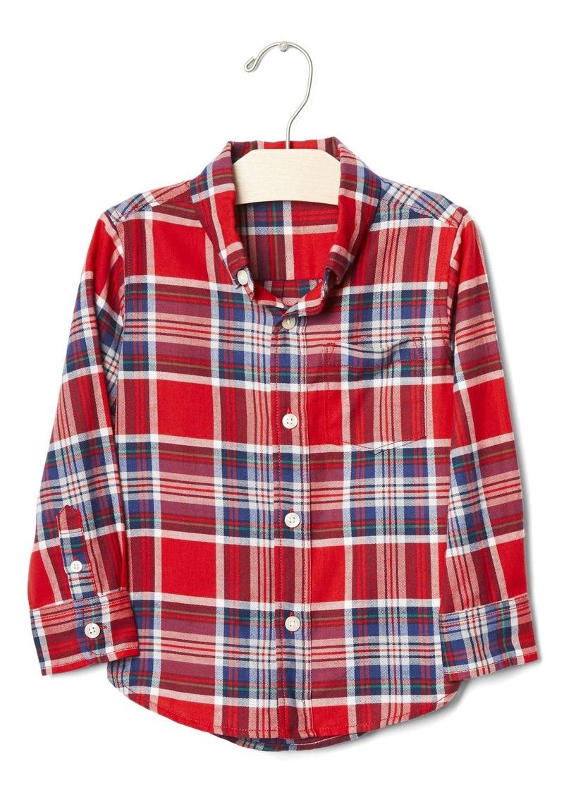 Gap Plaid button-down shirt