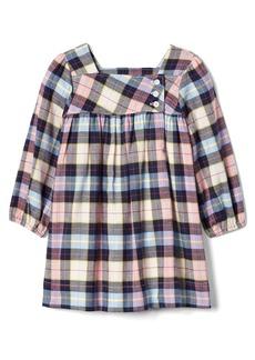 Gap Plaid twill dress