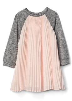 Gap Pleated chiffon raglan dress