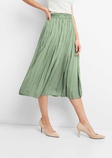 Gap Pleated Midi Skirt