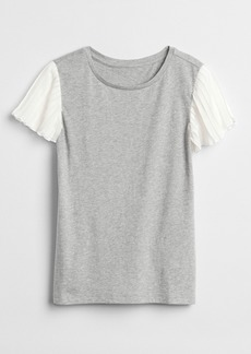 Gap Pleated Short Sleeve T-Shirt