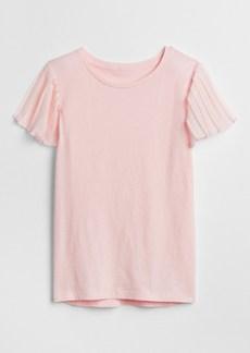 Gap Pleated Short Sleeve T-Shirt