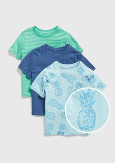 Gap Toddler Pocket Short Sleeve T-Shirt (3-Pack)