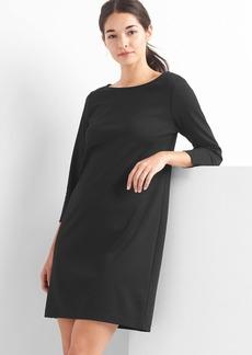 Ponte boatneck dress