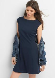 Ponte cap sleeve dress