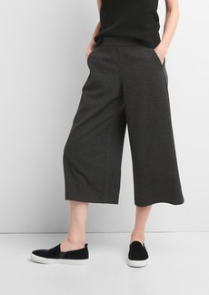 Gap Ponte wide-leg crop culottes
