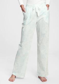 Gap Adult Poplin Pajama Pants
