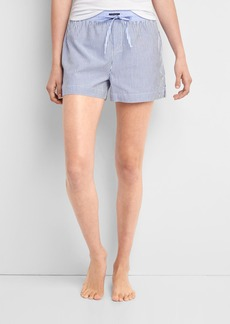 Gap Poplin print sleep shorts