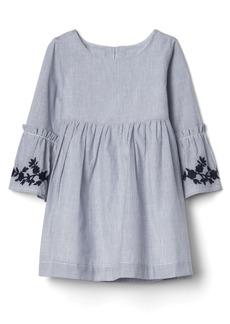 Gap Print bell-sleeve dress