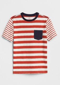 Gap Print Block Pocket T-Shirt
