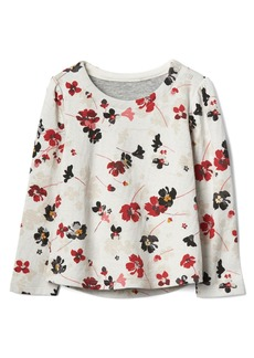 Gap Print double-knit top