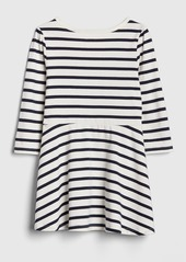 Gap Print Fit and Flare Dress