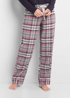 Gap Print flannel sleep pants