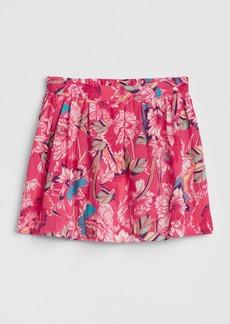 Gap Print Flippy Skirt