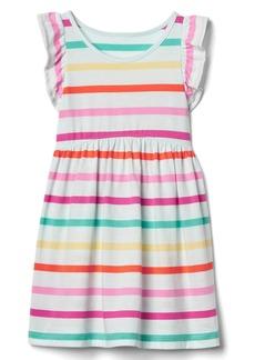 Gap Print flutter dress