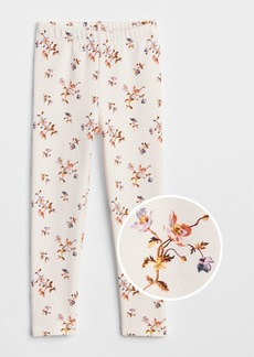 Gap Print Leggings in Soft Terry
