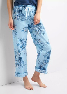 Gap Print roll-tab sleep pants