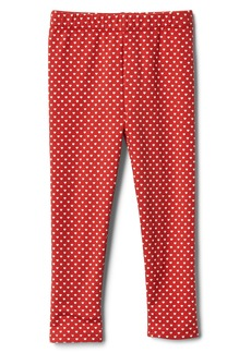 Gap Print soft terry leggings