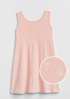 Gap Print Tank Swing Dress