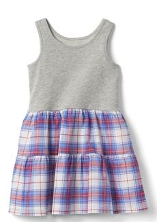 Gap Print tank tier dress