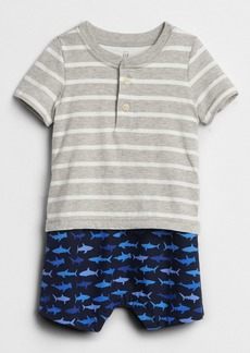 Gap Printed 2-in-1 One-Piece