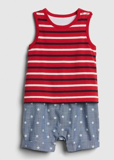 Gap Printed 2-in-1 Shorty One-Piece