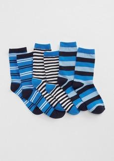 Gap Printed crew socks (3-pack)