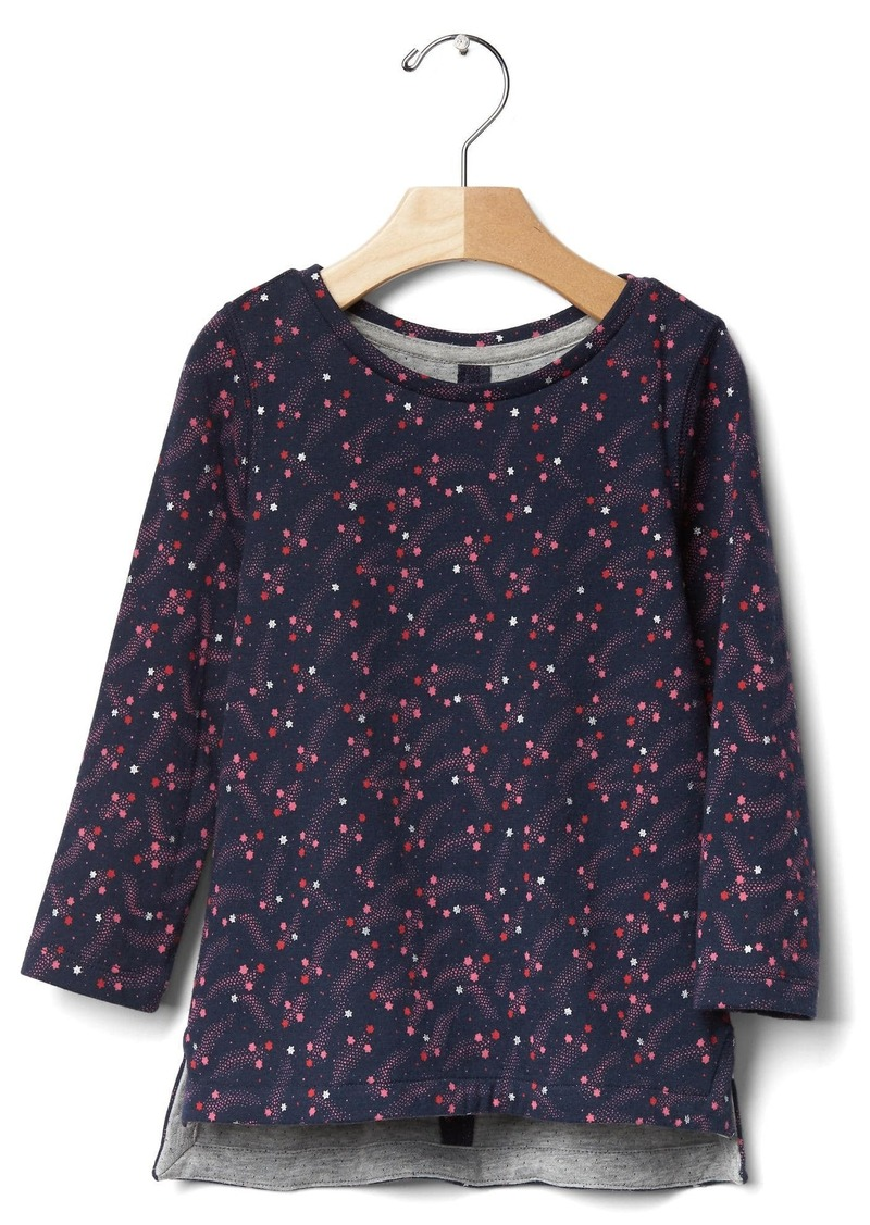 Gap Printed double-knit tee