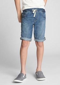 Gap Pull-On Denim Shorts