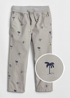Gap Pull-On Print Khakis