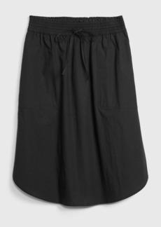 Gap Pull-On Skirt in Poplin