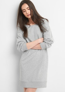 Pullover Sweatshirt Dress in French Terry