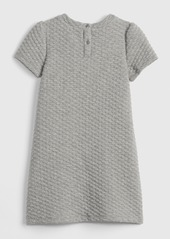 Gap Quilted Short Sleeve Dress