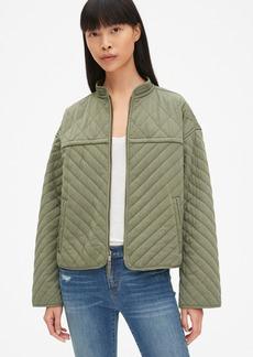 Gap Quilted Zip-Front Jacket
