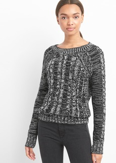 Gap Raglan cable-knit pullover