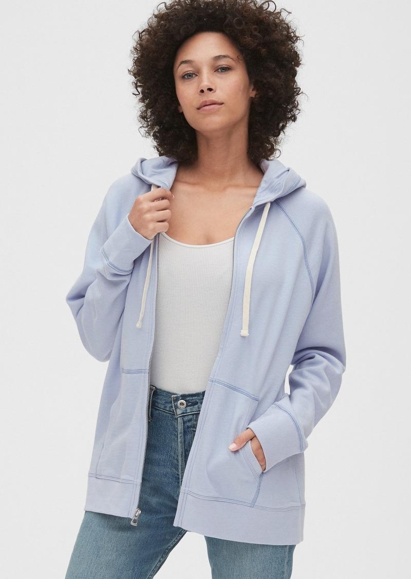 Gap Raglan Full-Zip Hoodie Sweatshirt